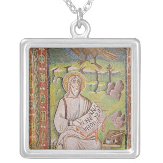 St. John the Evangelist Silver Plated Necklace