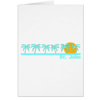 St. John, US Virgin Islands Greeting Cards