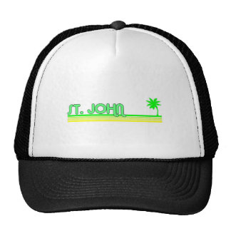 St John US Virgin Islands Trucker Hats