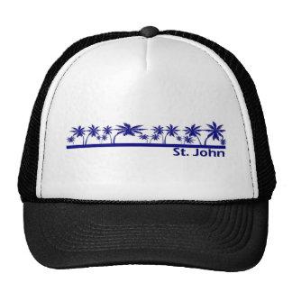St John US Virgin Islands Mesh Hat