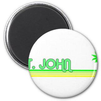 St John US Virgin Islands Fridge Magnets