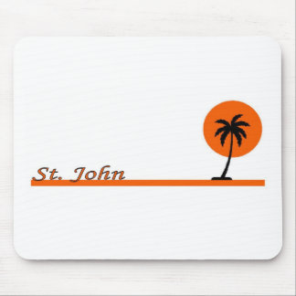 St John US Virgin Islands Mouse Pads