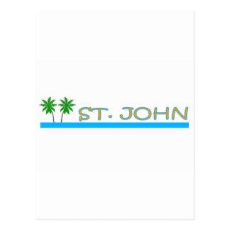 St. John, US Virgin Islands Post Card
