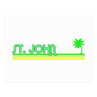 St John US Virgin Islands Postcards