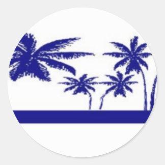 St. John, US Virgin Islands Round Sticker