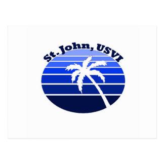 St. John, USVI Postcard
