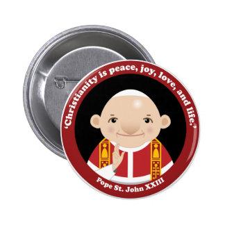 St. John XXIII 6 Cm Round Badge