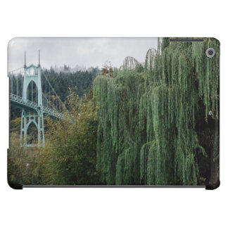 St. John's Bridge from Cathedral Park iPad Air Cases