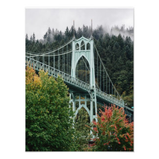 St. John's Bridge Photo Print