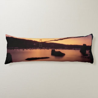St Johns Bridge Sunset Body Cushion