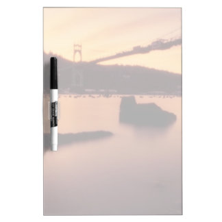 St Johns Bridge Sunset Dry Erase Board