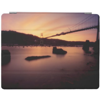 St Johns Bridge Sunset iPad Cover