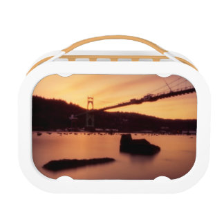 St Johns Bridge Sunset Lunch Box