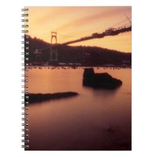 St Johns Bridge Sunset Notebooks