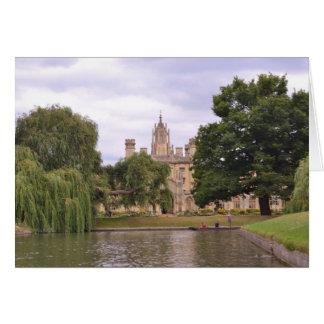 St John's College Cambridge Card