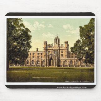 St. John's College, Cambridge, England classic Pho Mouse Mat