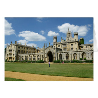 St John's College Cambridge Greeting Card