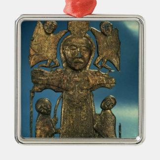 St. John's Crucifixion Plaque, late 7th Century Christmas Ornament
