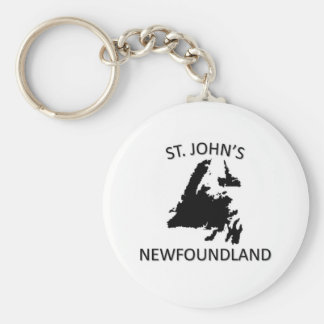 St. John's Key Ring