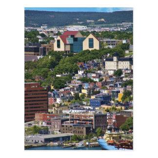 St. John's, Newfoundland, Canada, the Postcard