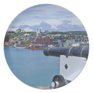 St. John's, Newfoundland, Canada, the waterfront Plates