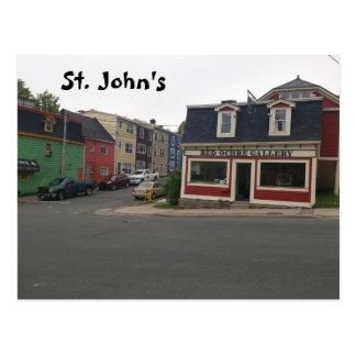 St John's Postcard