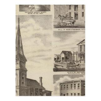 St. John's Roman Catholic Church, Minnesota Postcard