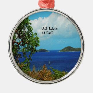 St. John's U.S.V.I. Christmas Ornament