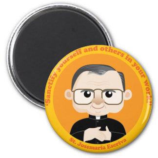 St. Josemaria Escriva 6 Cm Round Magnet
