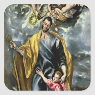 St. Joseph and the Christ Child, 1597-99 Sticker