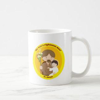 St. Joseph Basic White Mug