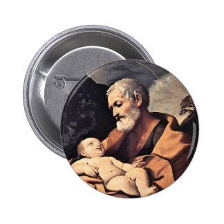 St Joseph by Guido Reni Pin