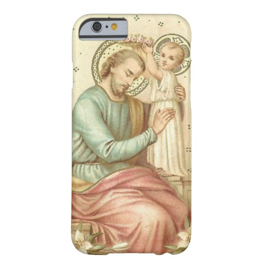 St. Joseph & Child Jesus Barely There iPhone 6 Case