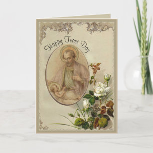 St josephs feast day cards zazzle uk st joseph feast day march 19th card m4hsunfo