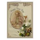 St. Joseph Feast Day March 19th Card