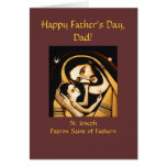 St Joseph Happy Father's Day Card