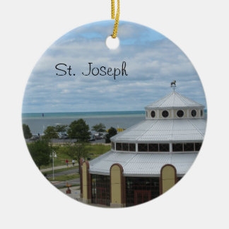 St. Joseph, Michigan Christmas Ornament