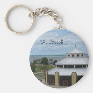 St. Joseph, Michigan Key Ring