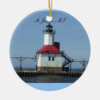 St. Joseph Michigan Lightihouse Ornament