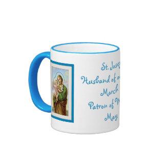 St. Joseph Ringer Mug