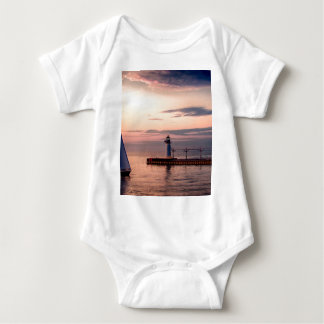 St. Joseph Sailboat Baby Bodysuit