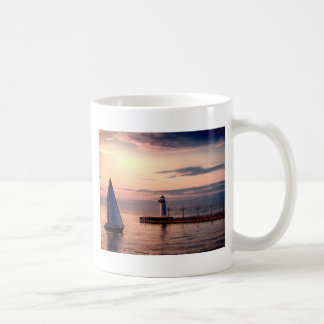 St. Joseph Sailboat Basic White Mug