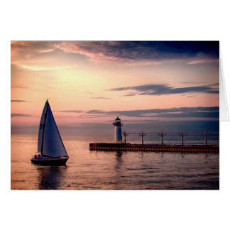 St. Joseph Sailboat Greeting Card