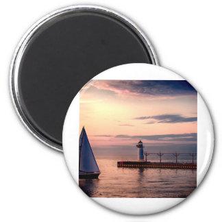 St. Joseph Sailboat Magnet