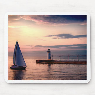 St Joseph Sailboat Mousepads