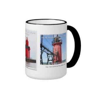 St. Joseph _ South Haven _ Holland Harbor Ringer Mug
