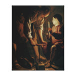 St. Joseph, the Carpenter Gallery Wrapped Canvas