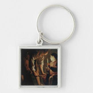 St. Joseph, the Carpenter Key Ring