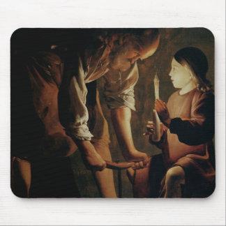 St. Joseph, the Carpenter Mouse Mat