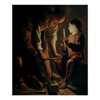 St. Joseph, the Carpenter Poster